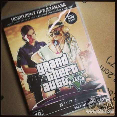GTA 5 едет в Россию!