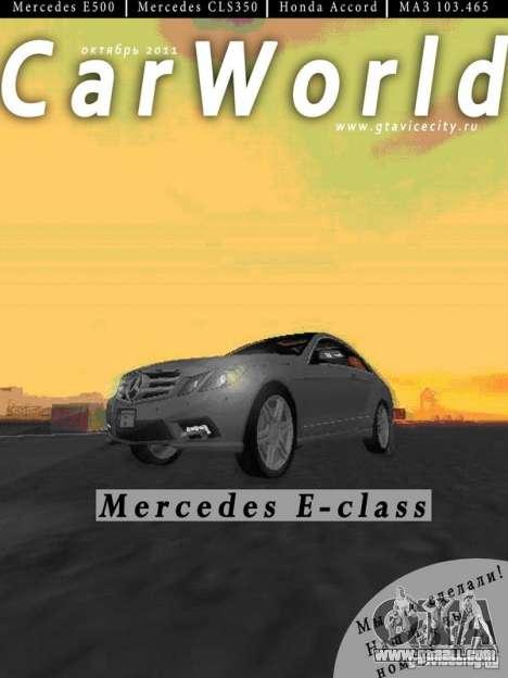 CarWorld GTA San Andreas