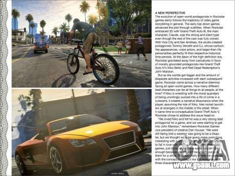 Preview GTA 5 from GameInformer - scans all web pages