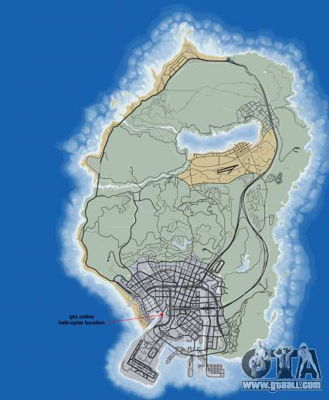 Где найти вертолет в GTA Online