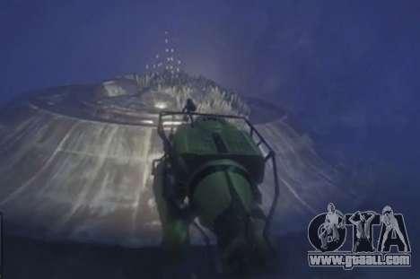 GTA 5 Versunkenen fliegende Untertasse (UFO)