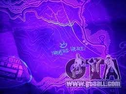 GTA V карта из специального издания