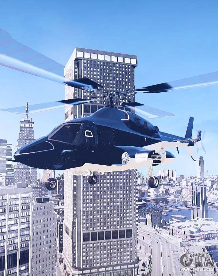Helicopters in GTA 4 with automatic installation: free download