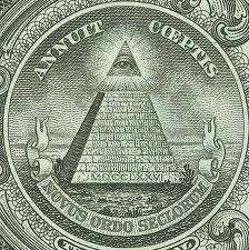Illuminati Symbol on the banknote