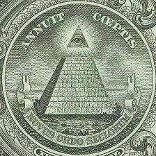 Illuminaten-Symbol auf der banknote