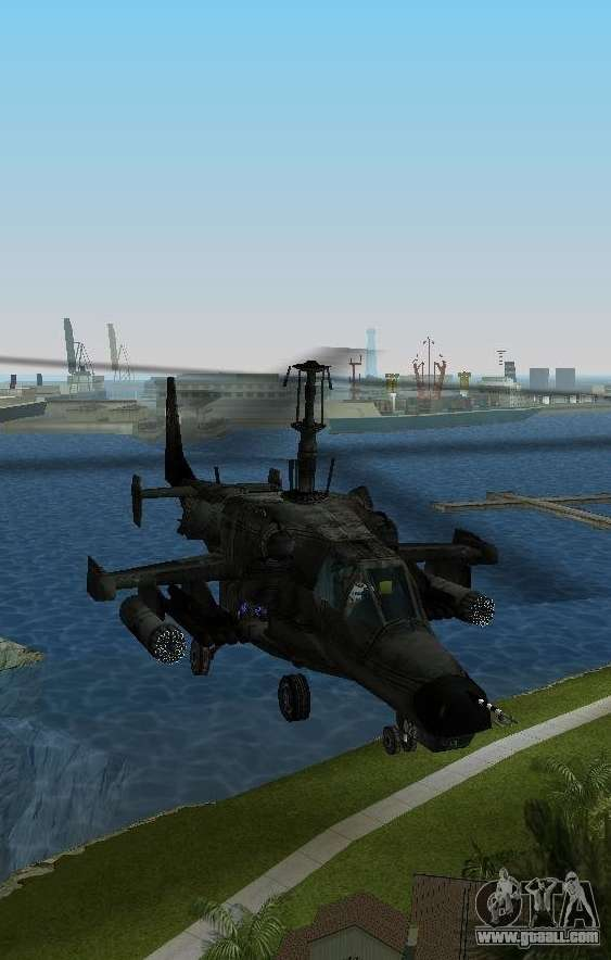 Helicopters in GTA Vice City with automatic installation