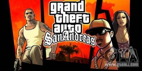Gran Theft Auto San Andreas artwork