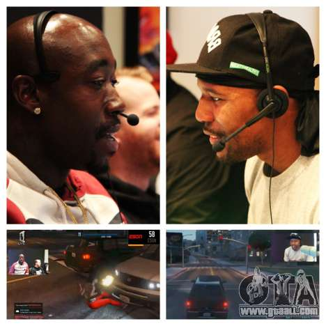 Confrontation team Freddie Gibbs ESGN and HOT 97's HIP HOP GAMER'S