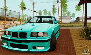 BMW E36 M3 1997 Stock for GTA San Andreas