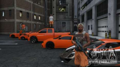a Set of players in the team GTA Online