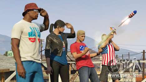 Day of independence in GTA Online