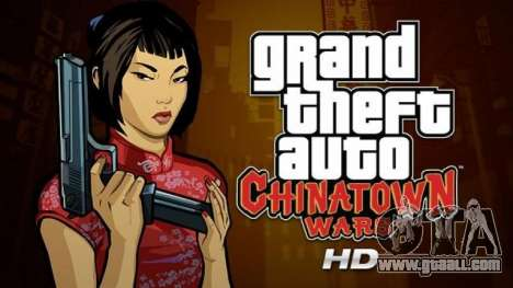 Releases for iPad GTA: Chinatown Wars