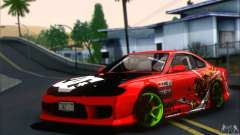 Nissan Silvia S15 Team Drift Monkey for GTA San Andreas