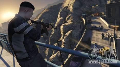 GTA Online Mission: back in time