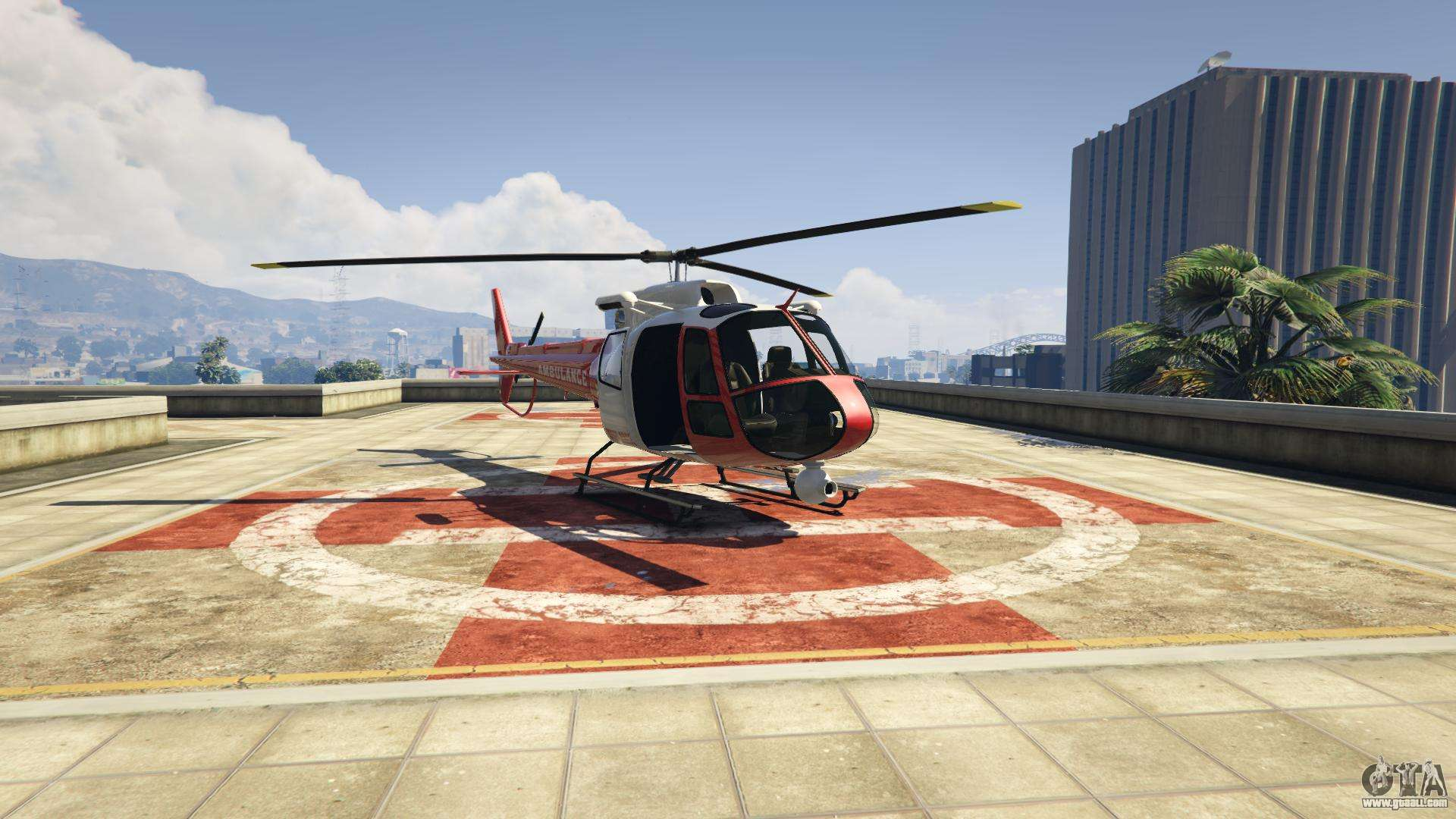 Where to find a helicopter in the GTA-5: ways to get transport 95