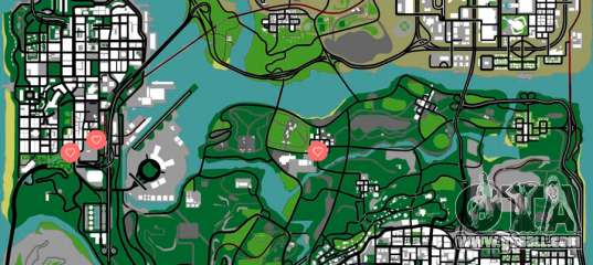 Gta San Andreas Girls Map - Find All 6 Girls-2121