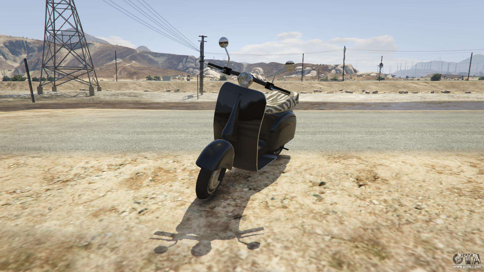 Principe Faggio from GTA 5