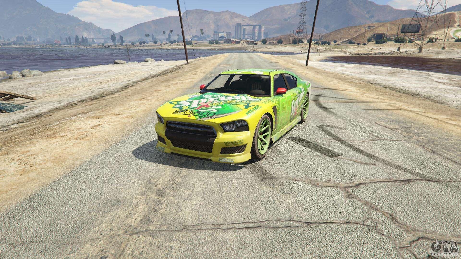 Sprunk Buffalo S GTA 5 - front view