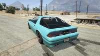 Imponte Ruiner GTA 5 - rear view