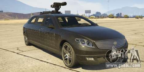 Benefactor Turreted Limo