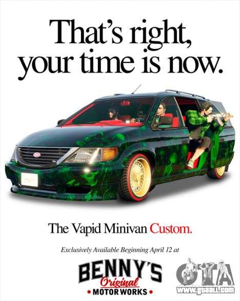 New Vapid Minivan Custom