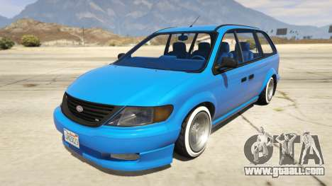 Vapid Minivan Custom