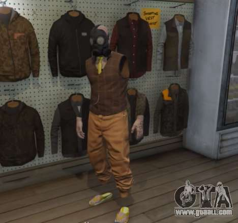 Unique costume in GTA Online