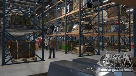 Organization's Warehouse in GTA Online