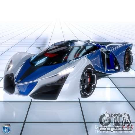 Brand new supercar Grotti X80 Proto