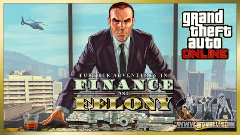 Update GTA Online: Further Adventures in Finance and Felony is already available!
