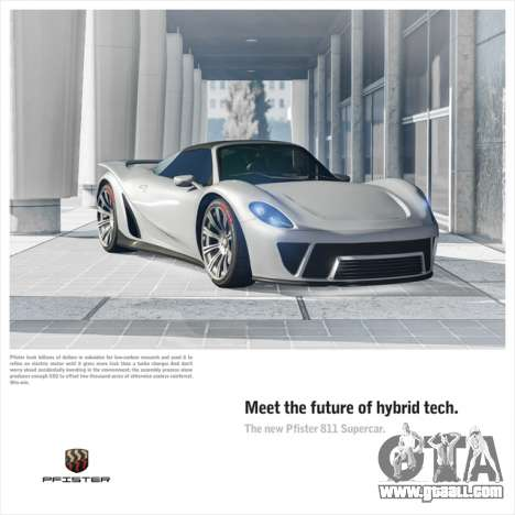 New Pfister 811 supercar and Independence Day event in GTA Online