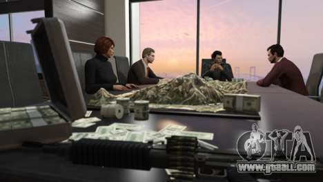 Leaders of a crime syndicate in GTA Online