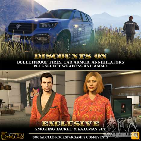 Exclusive content and special offers in GTA Online