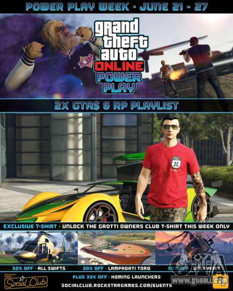 Another weekly event in GTA Online