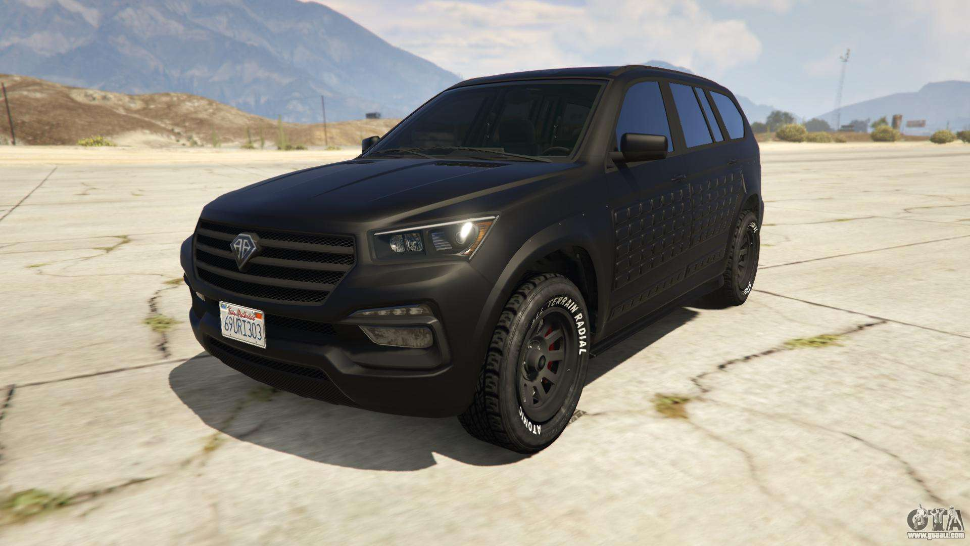 XLS Benefactor (Armored) from GTA Online - front view