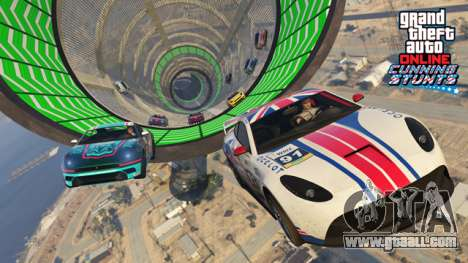 GTA Online: Cunning Stunts - New stunt races and vehicles