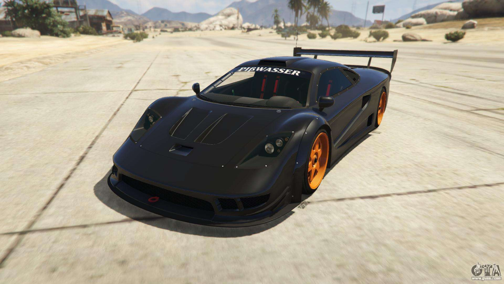 Progen Tyrus from GTA Online - front view