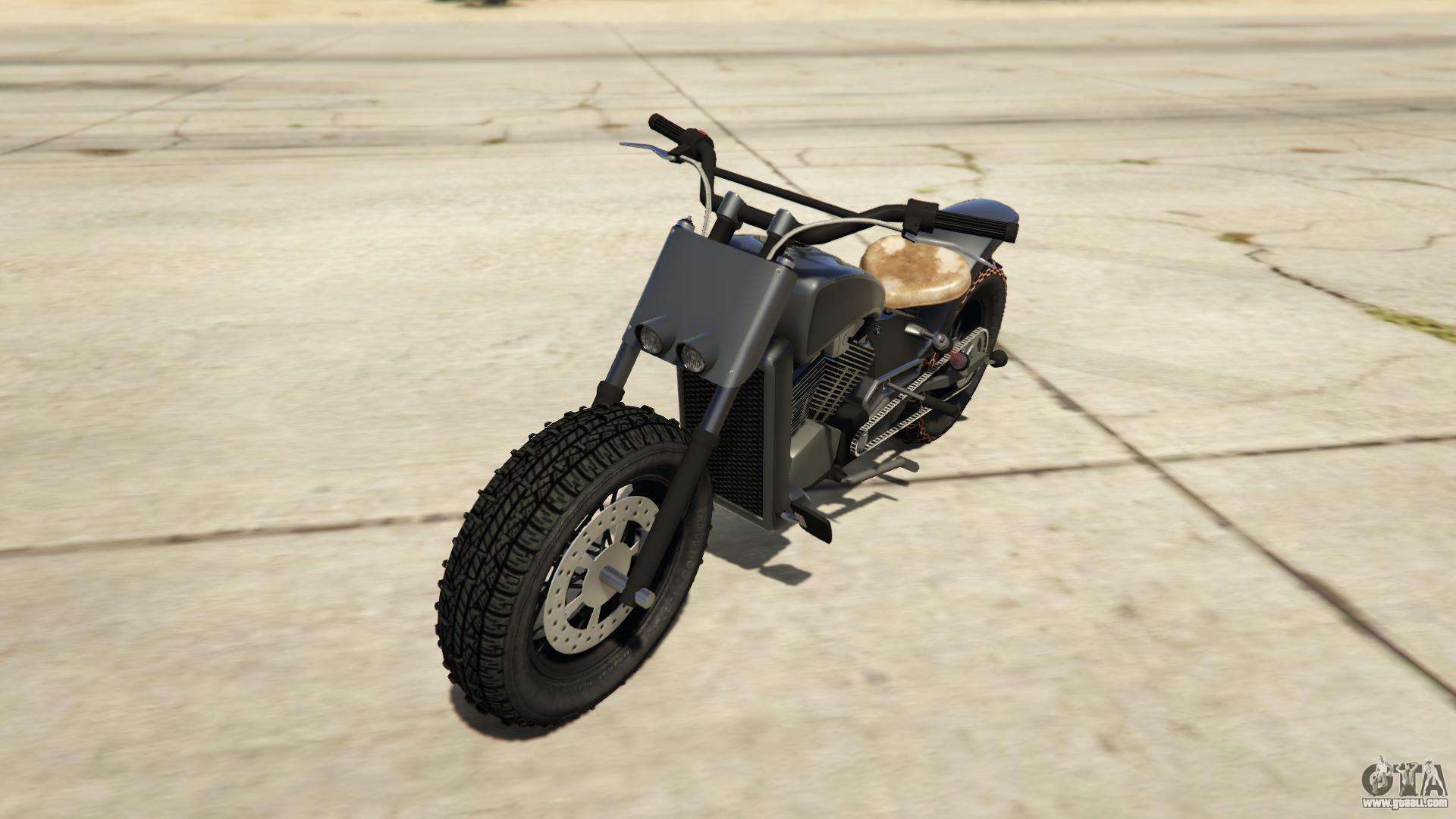 Western Motorcycle Company Gargoyle from GTA Online - front view