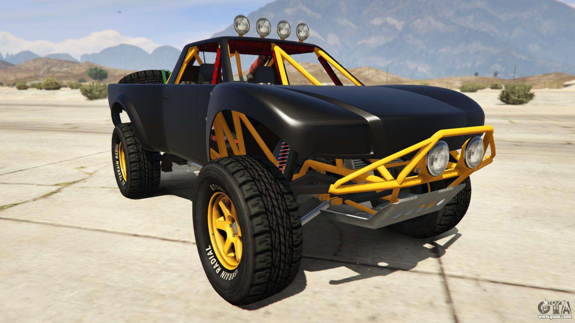 Vapid Trophy Truck from GTA Online - front view