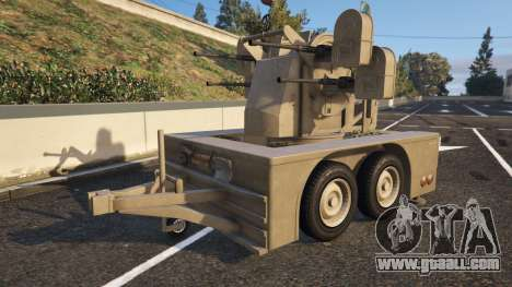 Vom Feuer Anti-Aircraft Trailer