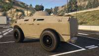 HVY APC from GTA 5 back view