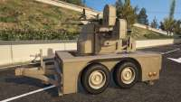 Anti-Aircraft Trailer from GTA 5 side view