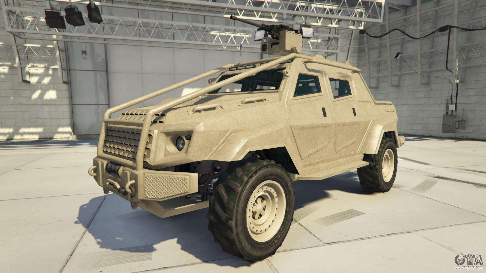 HVY Insurgent Pick-Up Custom from GTA 5