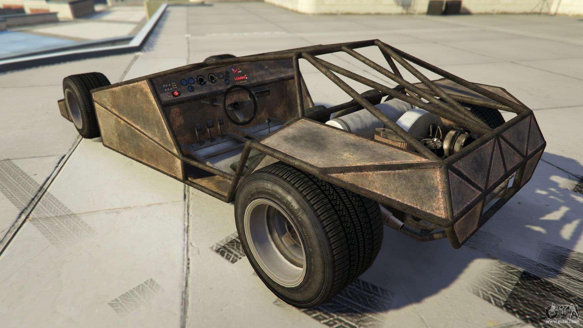 BF Ramp Buggy GTA Online - characteristics, description and screenshots