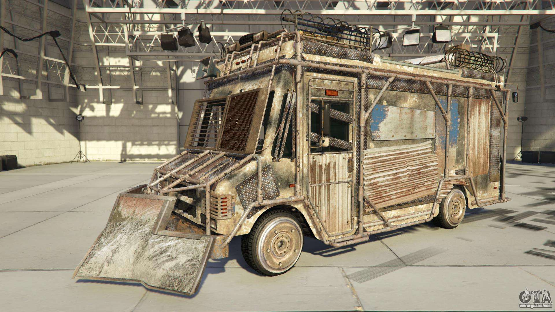 Brute Armored Boxville from GTA Online