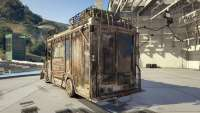 Brute Armored Boxville from GTA Online rear view