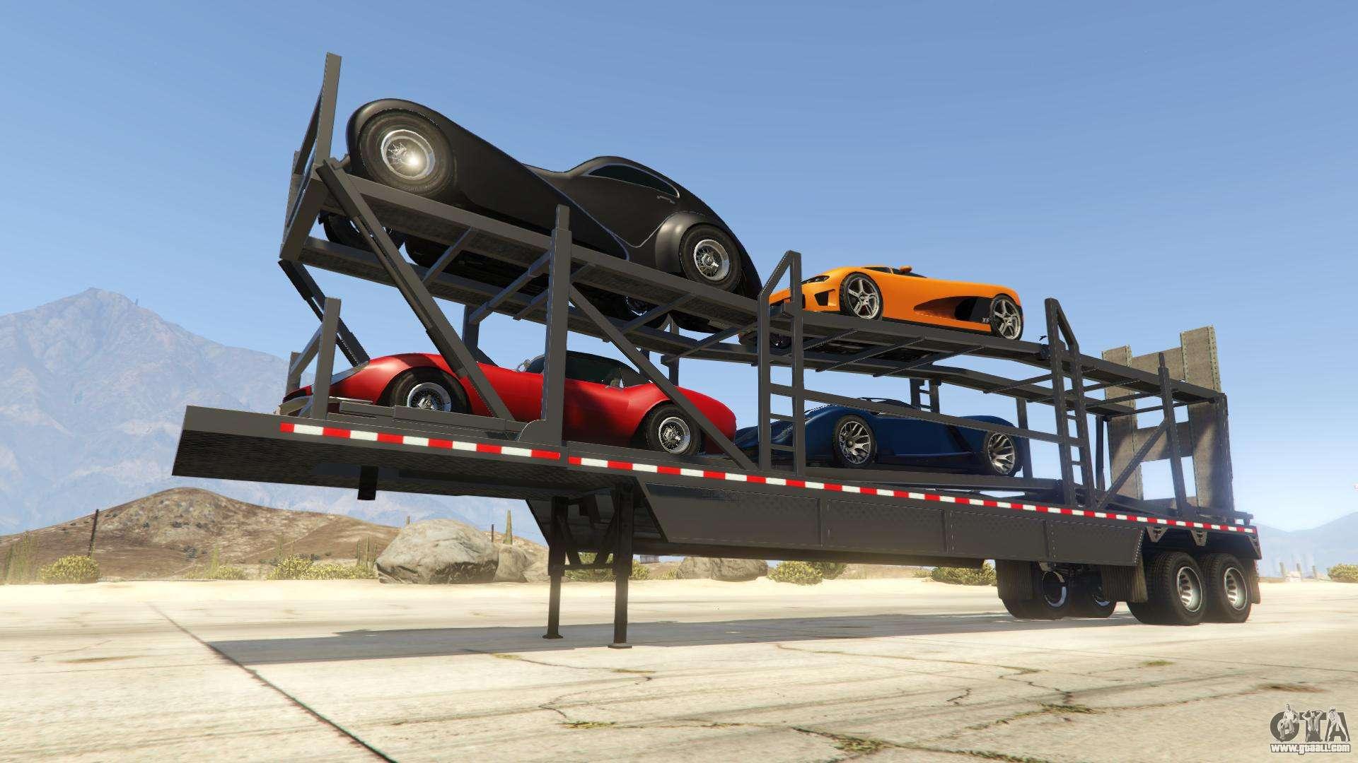 Car Trailer from GTA Online