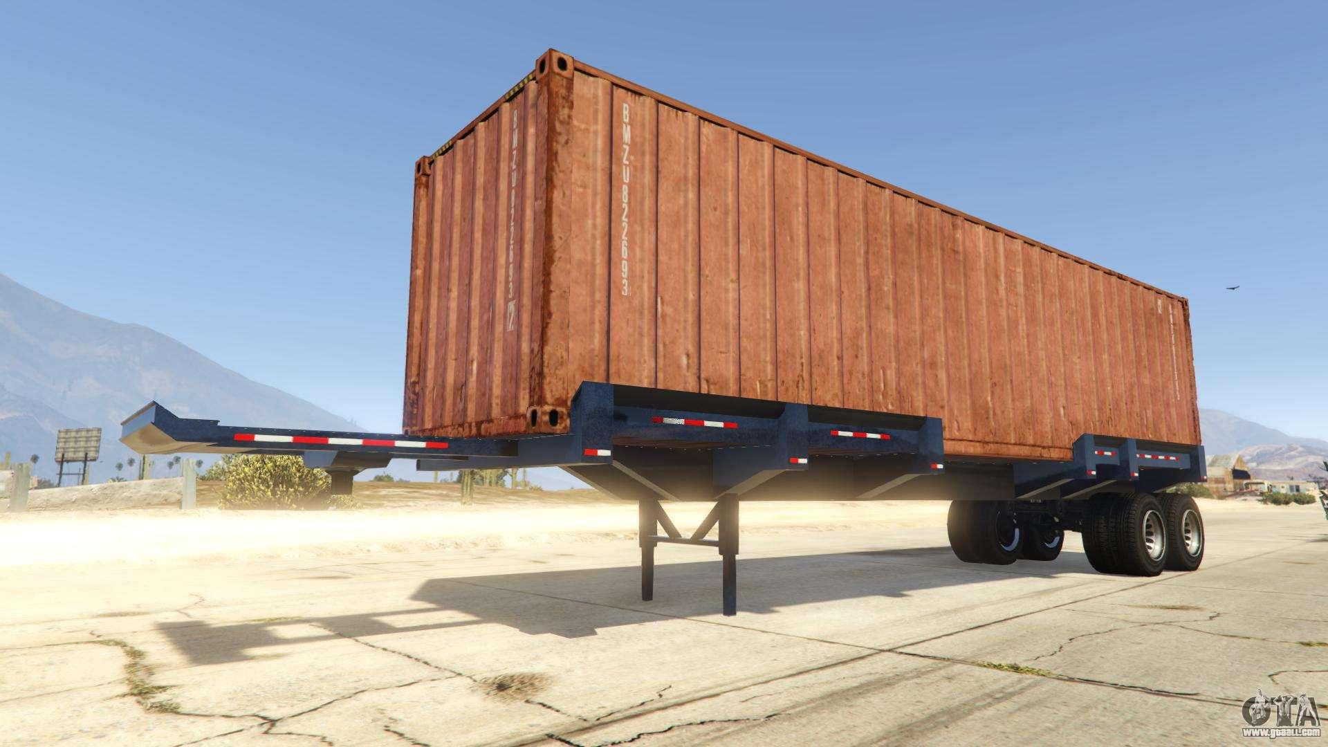 Dock Trailer from GTA Online