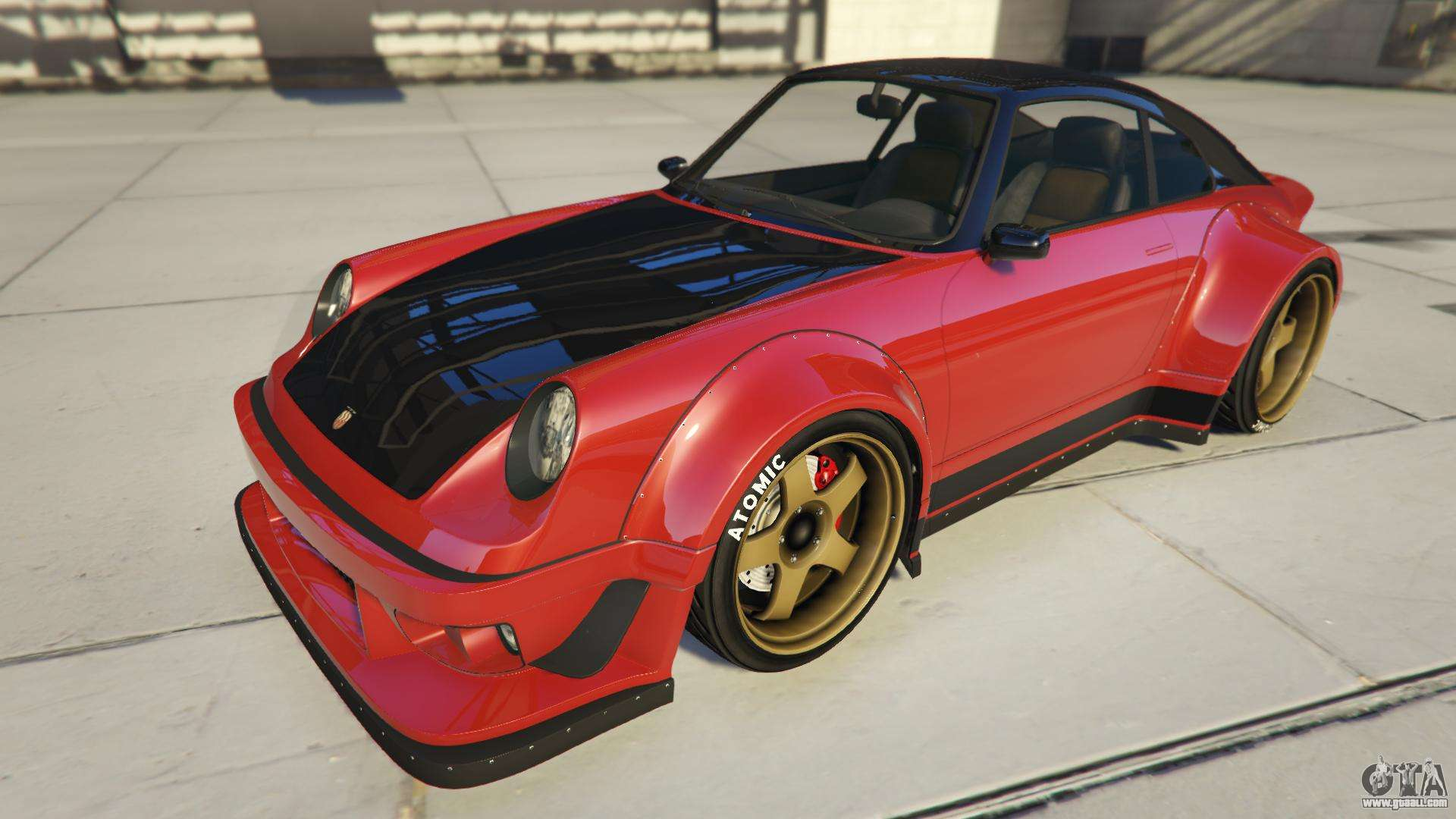 Pfister Comet Retro Custom from GTA Online