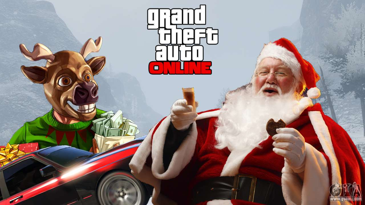 new year and christmas in gta online - Gta V Christmas